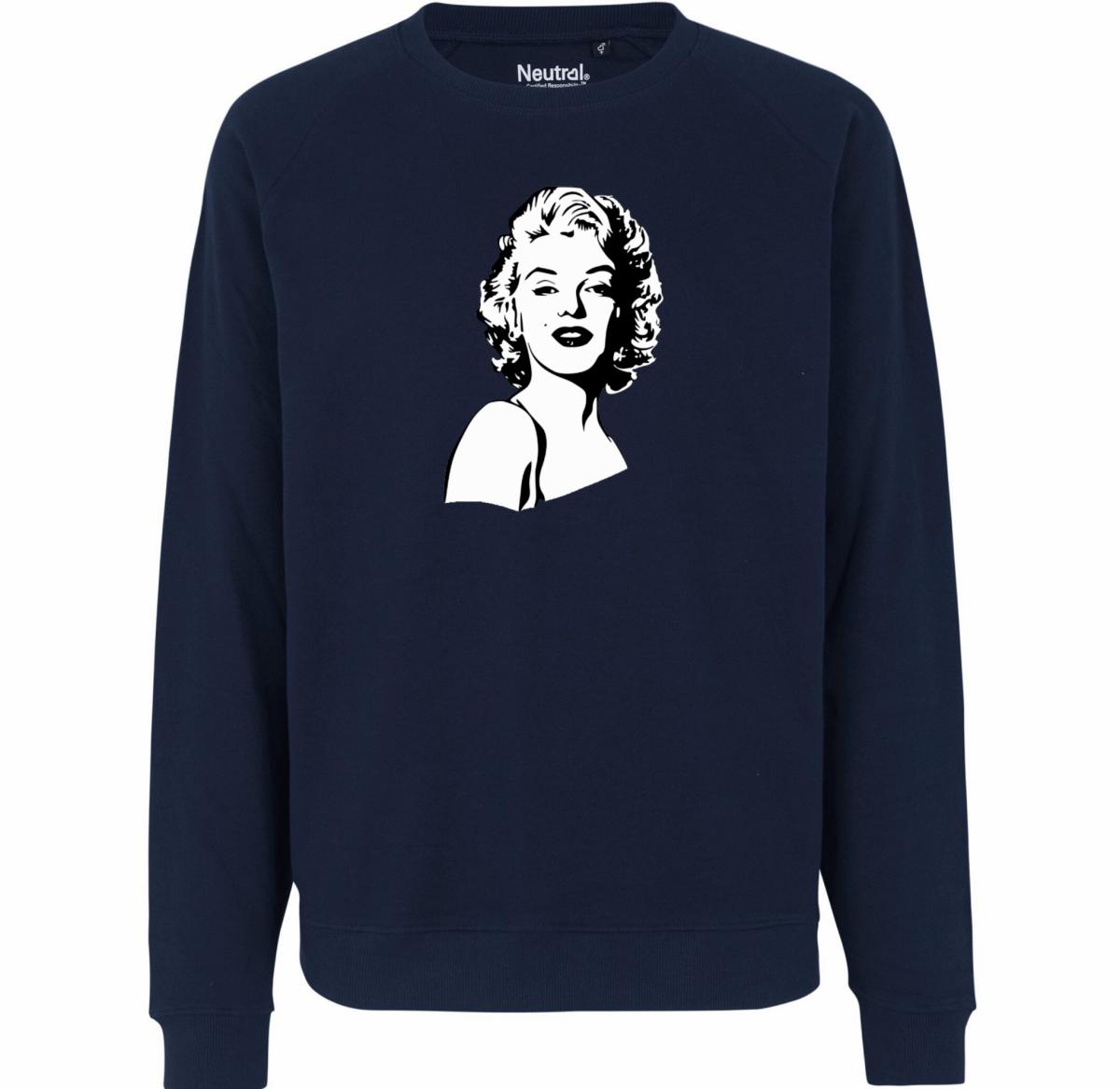 Sweatshirt – Portrait de Marilyn Monroe