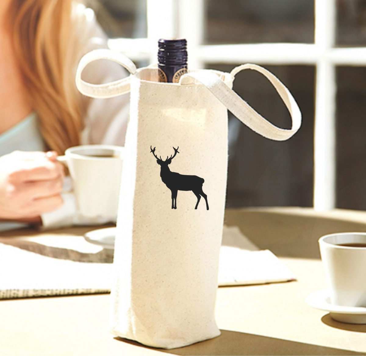 Porte-bouteille – Un Cerf