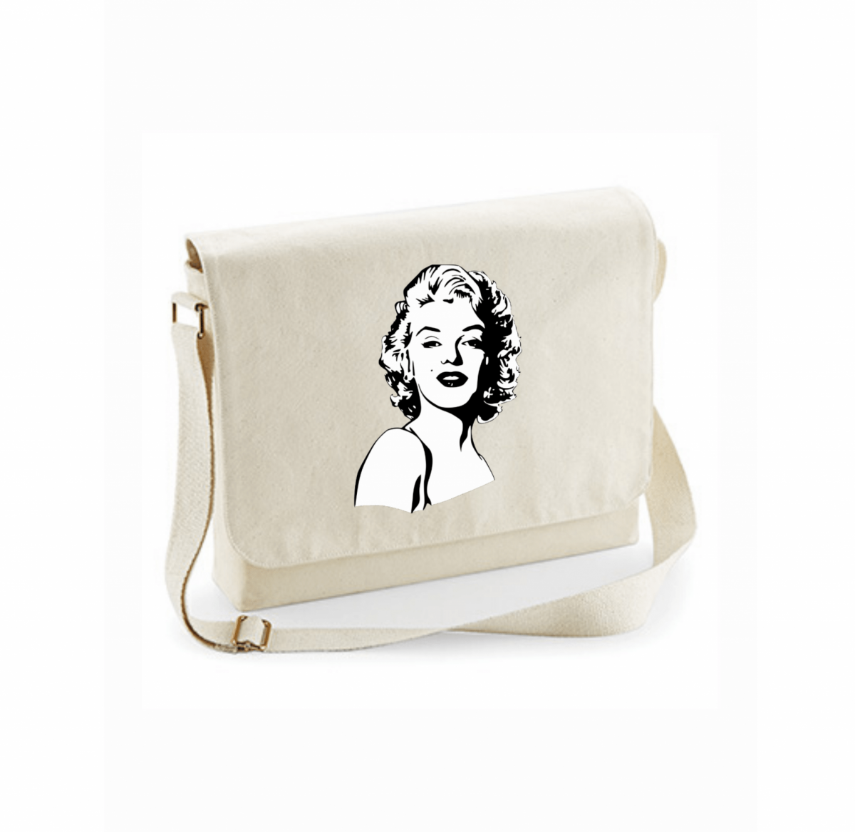 Sacoche - Portrait de Marilyn Monroe