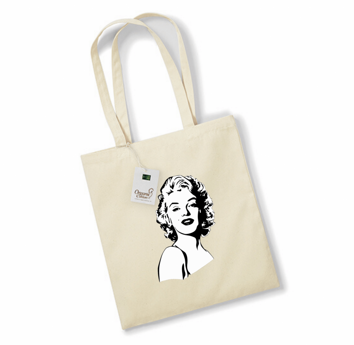 Sac de courses - Portrait de Marilyn Monroe