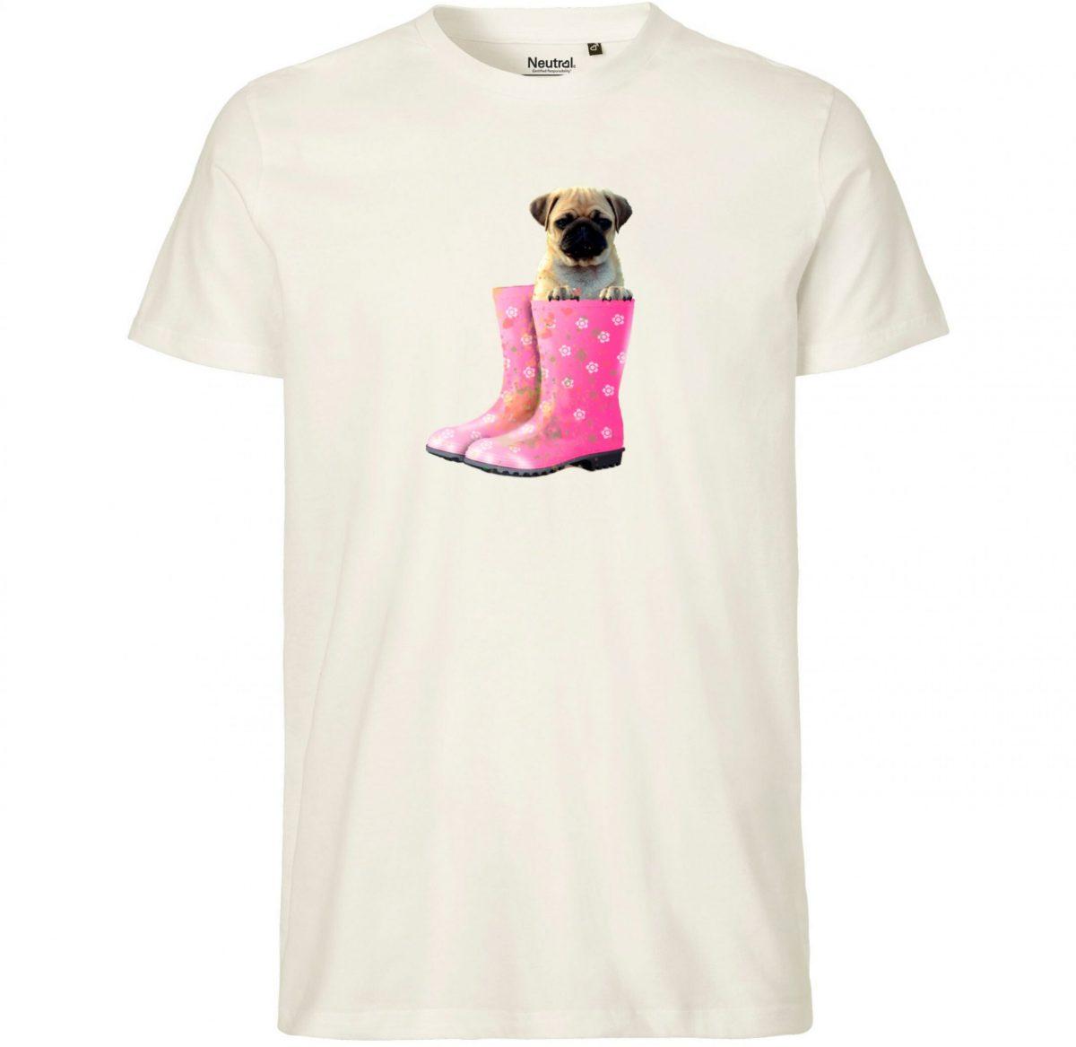 Tee-Shirt Enfant - Un Chien dans mes Bottes