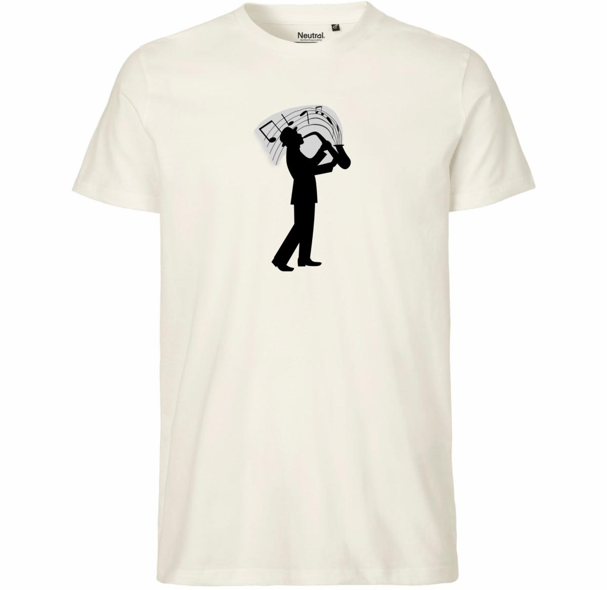 Tee-Shirt Homme - Joueur de Saxophone