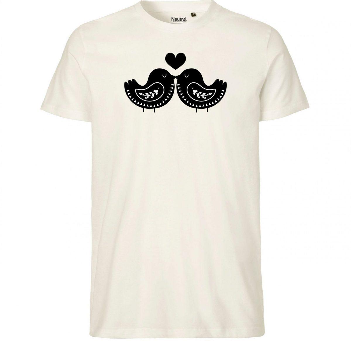 Tee-Shirt Homme – Les Oiseaux Amoureux