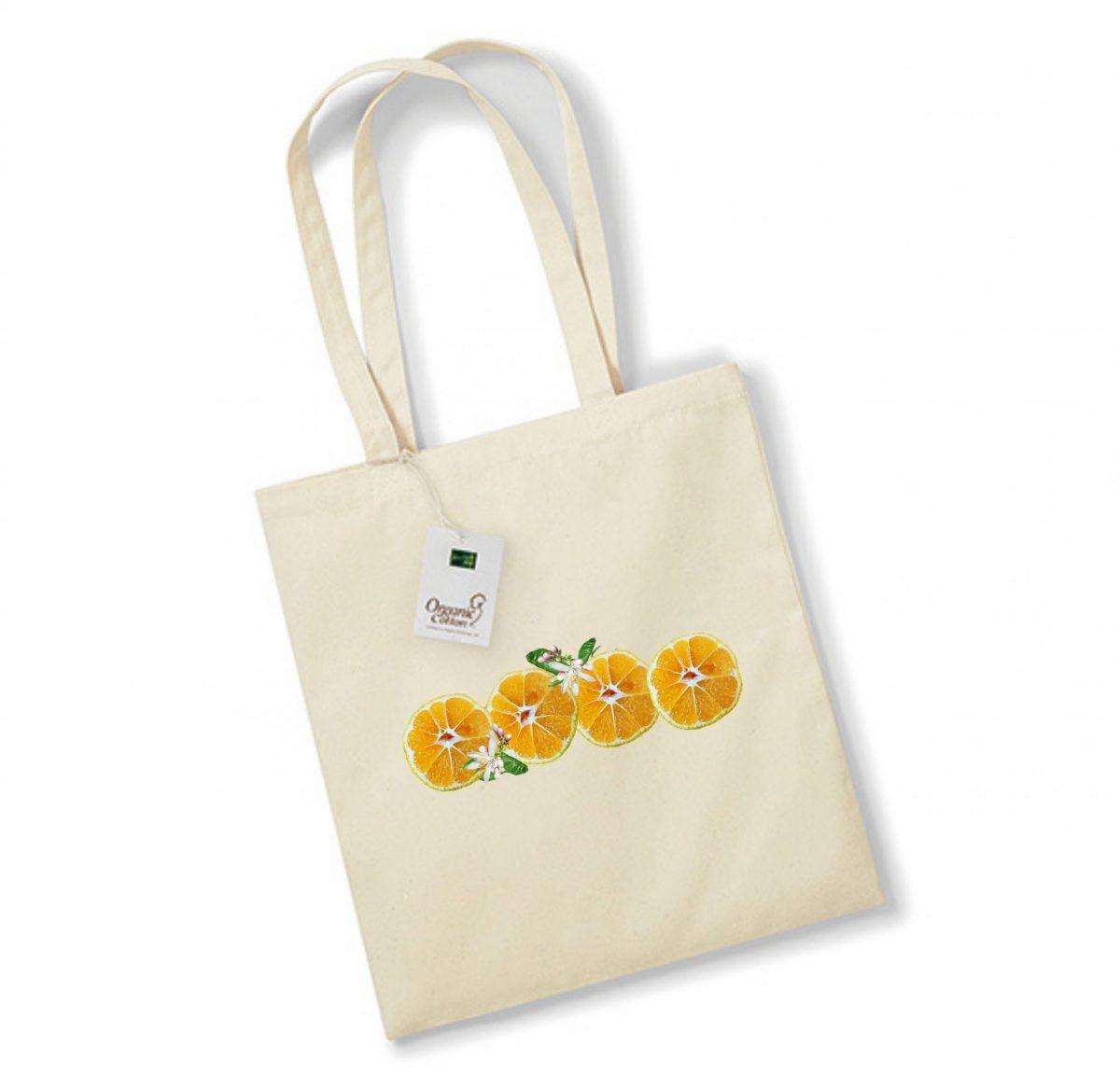 Sac de courses – Rondelles d'Orange