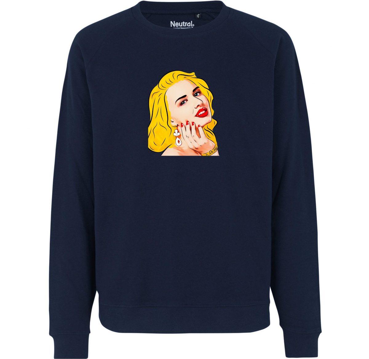 Sweatshirt - Portrait de Miley Cyrus