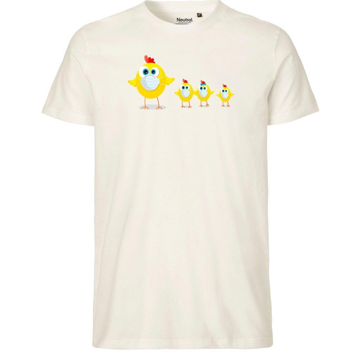 Tee-Shirt Enfant – Maman Poule et ses Poussins