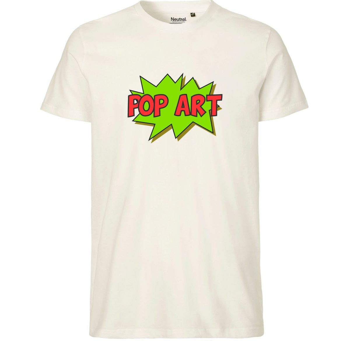 Tee-Shirt Homme – Pop Art