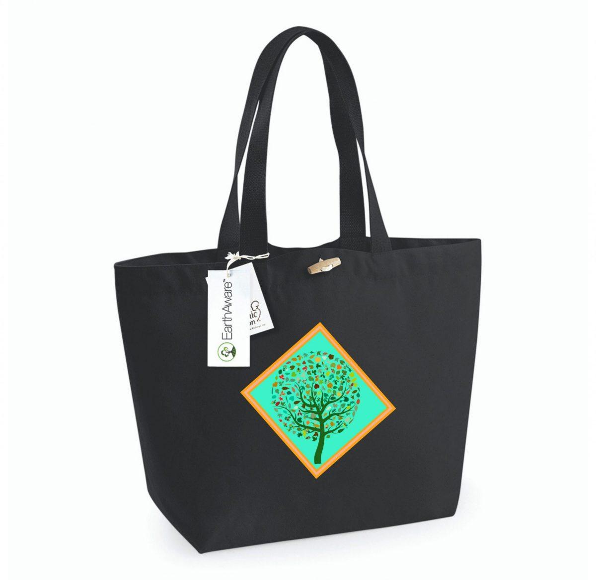 Tote Bag – Arbre de Vie (Automne)