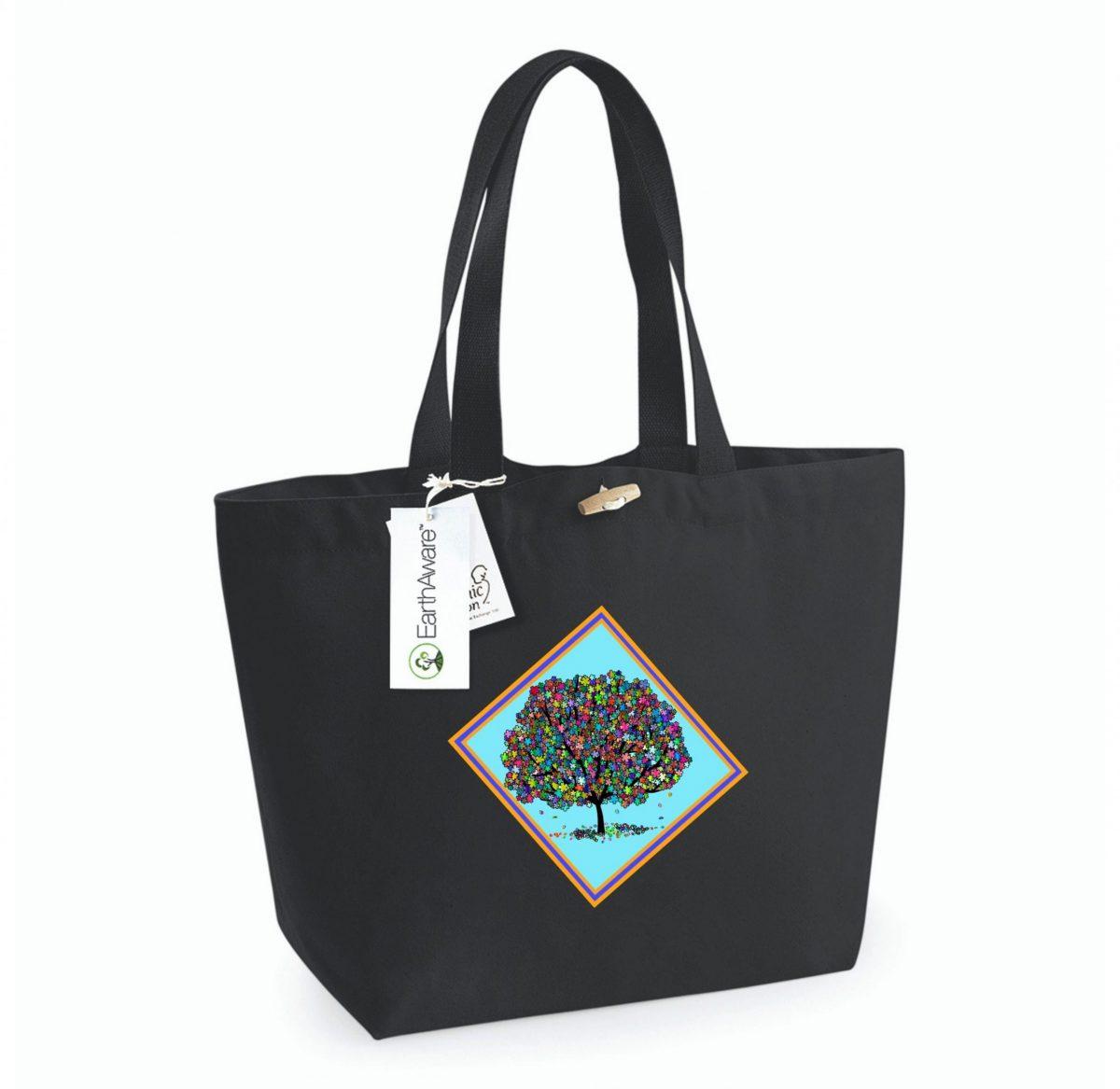 Tote Bag – Arbre de Vie (Printemps)
