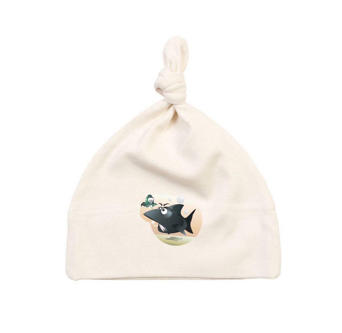 Bonnet Bébé - La Pieuvre et le Requin