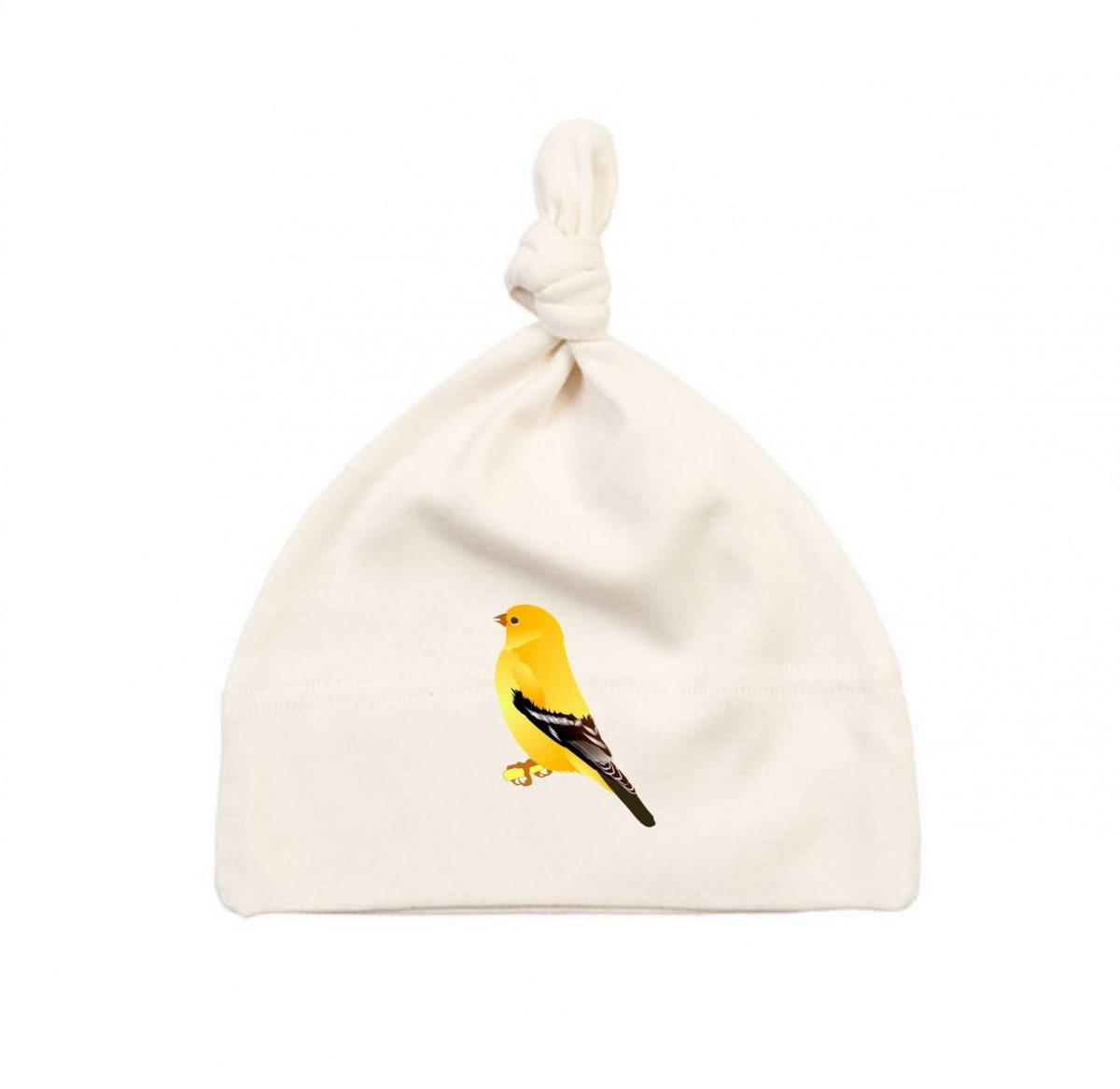 Bonnet Bébé - L'oiseau