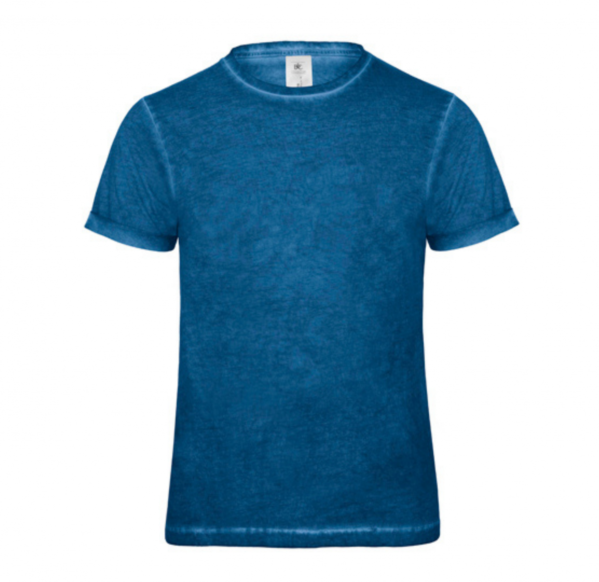 Tee-Shirt Homme Vintage - Bleu jeans